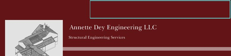Annette Dey Engineering LLC - Structural Engineering Services